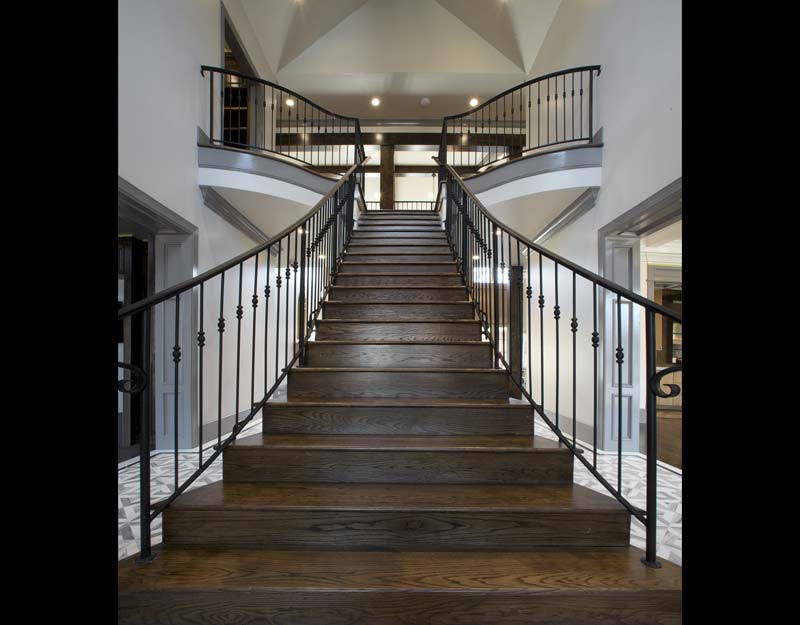 Oak Stairs and landing