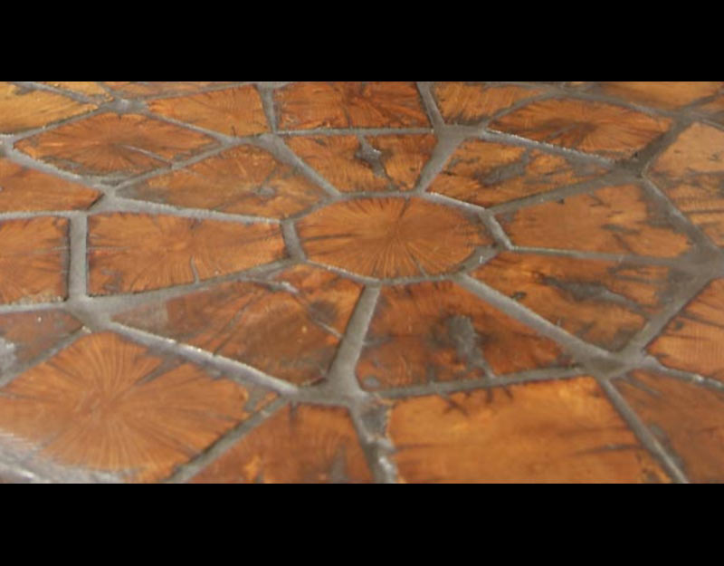 Antique Paver Floor