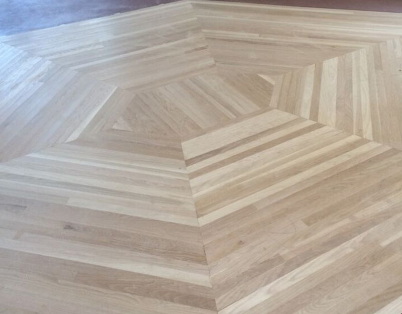 Custom White Oak Pattern