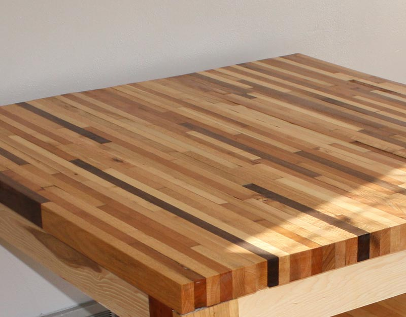Butcher Block tables islands and countertops