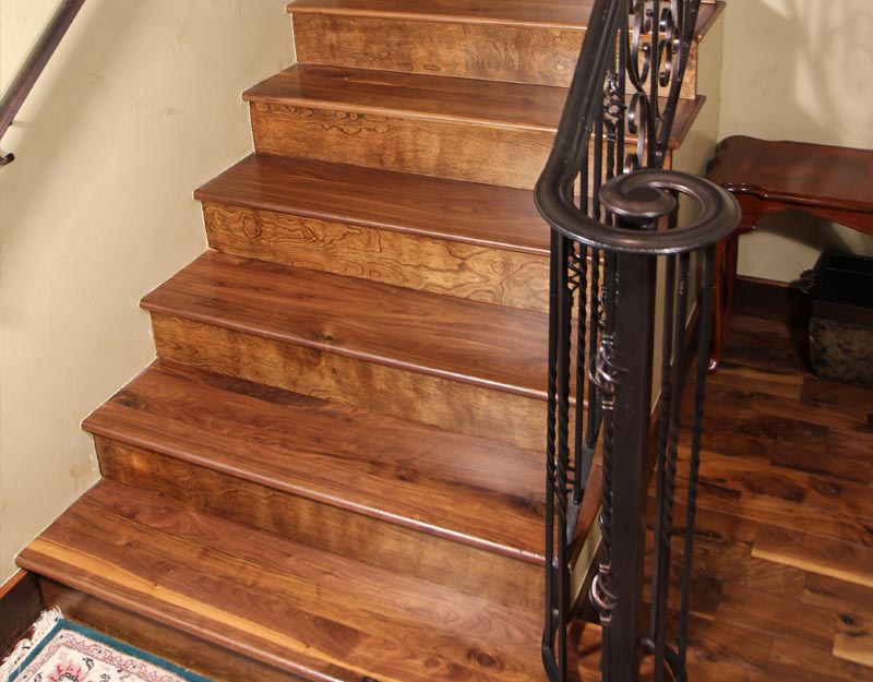 Walnut Staircase